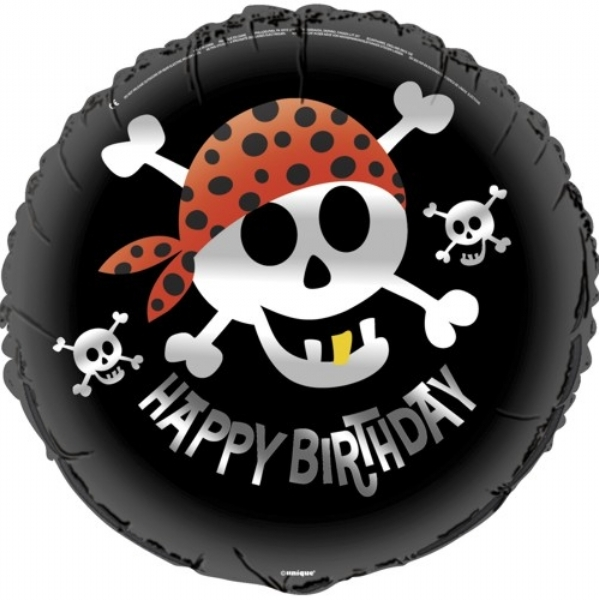 Globo Pirata Happy Birhday