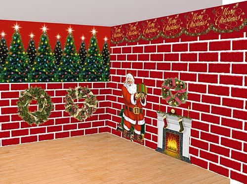 Decorado Navidad Pared Photocall