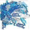 Confetti de mesa Happy Birthday Azul